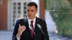 Sánchez anuncia que el Gobierno usará los fondos europeos para un plan de inversiones y reformas de 150.000 millones de euros
