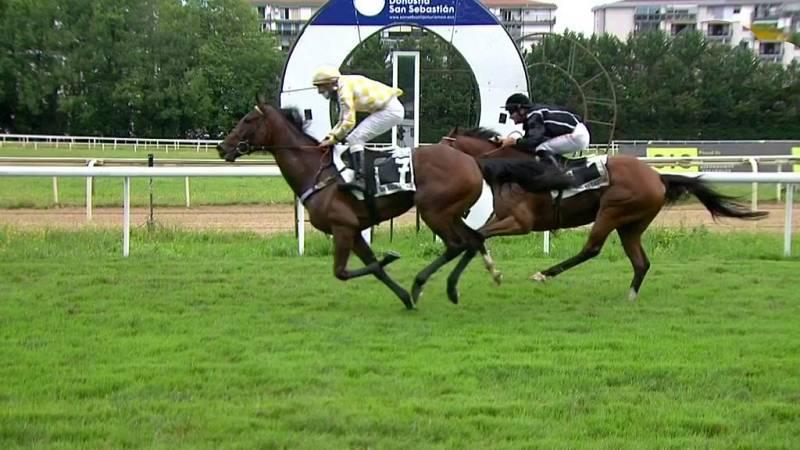 Hípica - Carreras de caballos desde el Hipódromo de San Sebastián - ver ahora