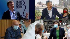Elecciones gallegas: Industria, sanidad, igualdad y cultura en las propuestas de los candidatos a la Xunta