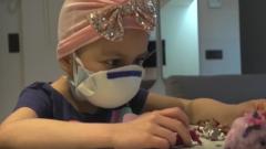 Ahinara, la primera paciente infantil que se ha curado mediante protones de un tumor cerebral