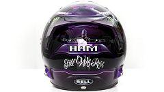 """Hamilton presenta su nuevo casco reivindicativo contra el racismo:  """"Si todos vamos a una podemos tener un gran impacto"""""""