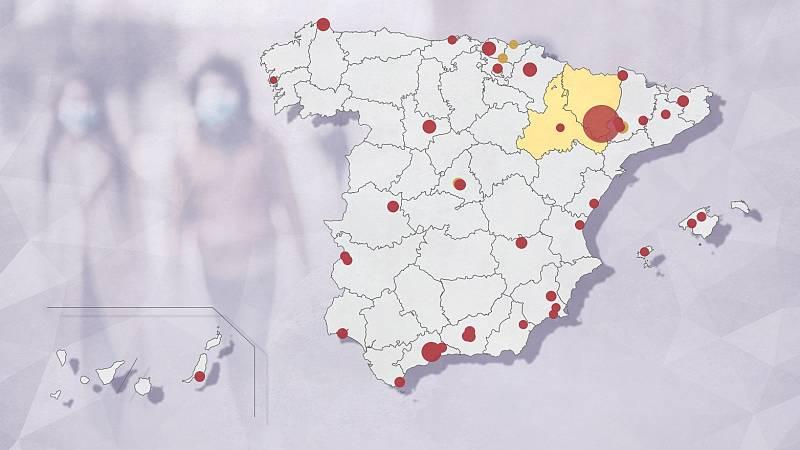 Lleida levanta un hospital de campaña por sus nueve brotes de coronavirus