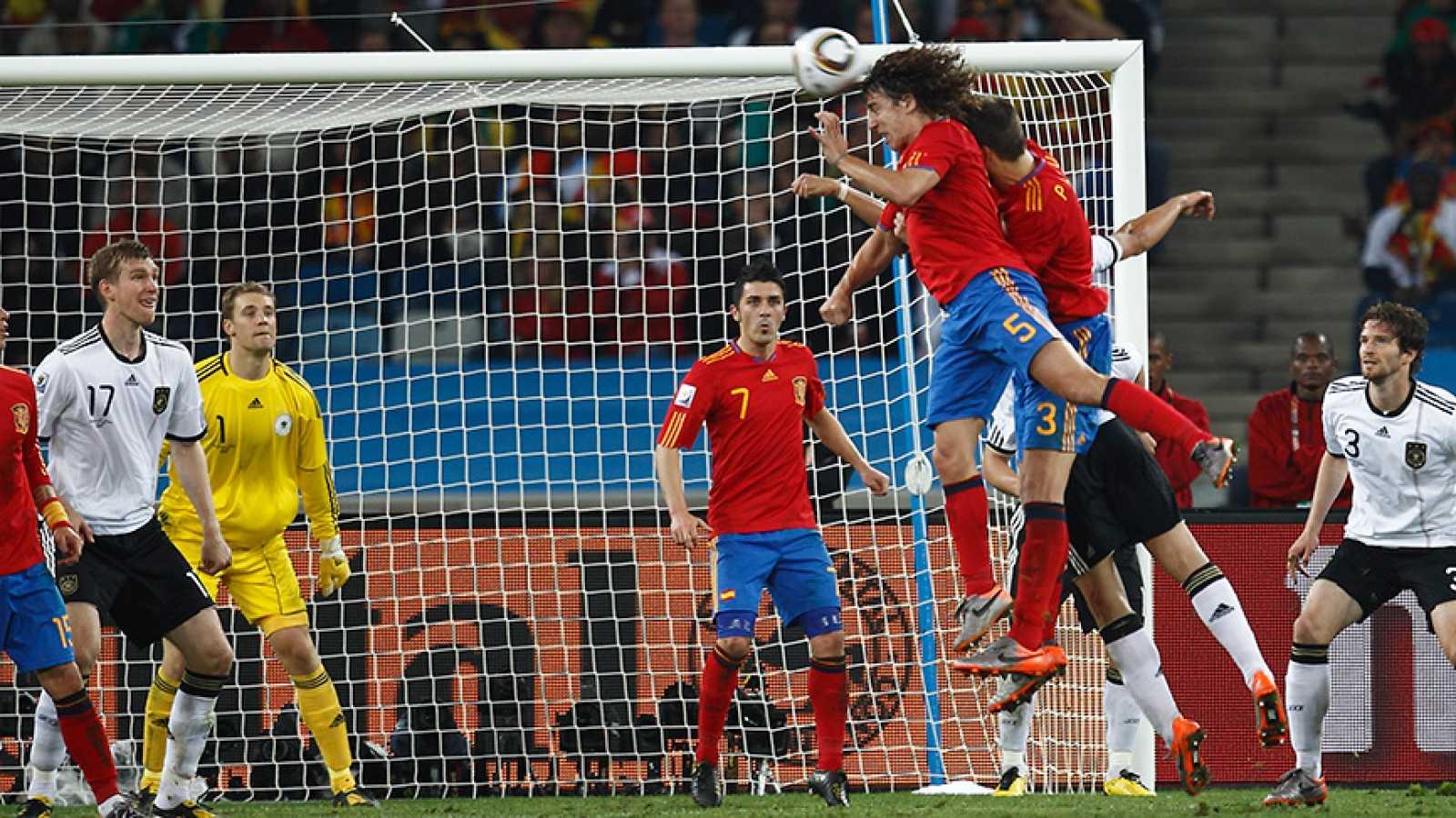 El Mundial 2010 en un minuto... con Carles Puyol