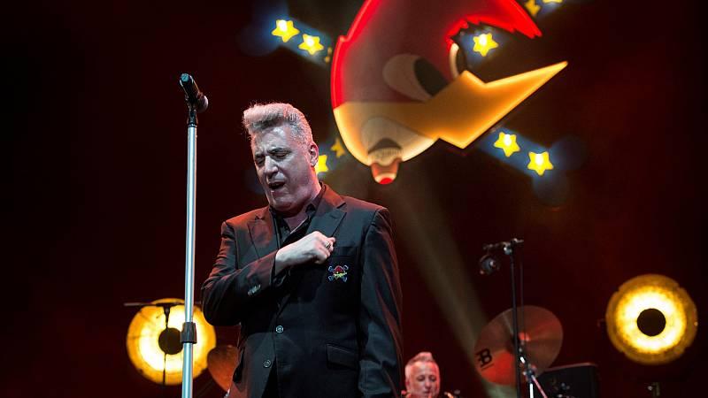 Loquillo ofrece un concierto en el Wizink Center de Madrid con un aforo reducido de unas 1.700 personas