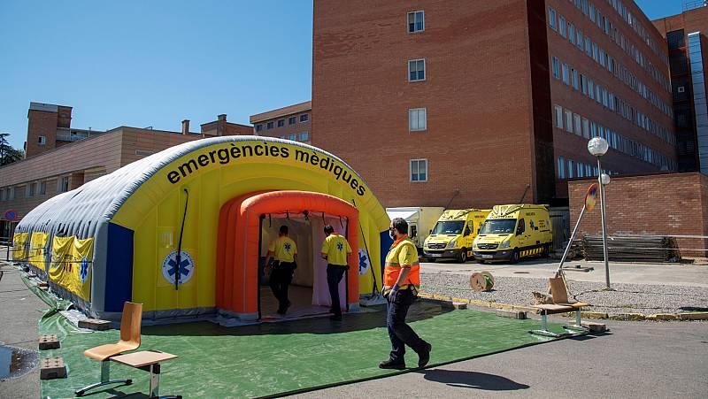 Nueve brotes de coronavirus permanecen activos en Lleida