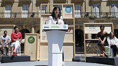 ERC entra a apoyar a la candidata de Bildu en Euskadi en el último fin de semana de campaña para los candidatos al 12J