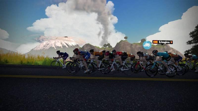 El sudafricano Ryan Gibbons se apunta la etapa 1 del Tour de Francia Virtual