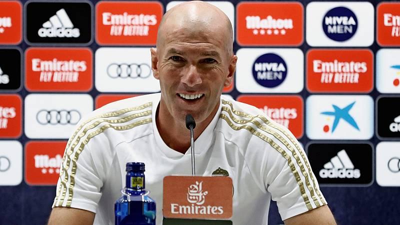 "Zidane: ""No queremos arriesgar con Hazard"""