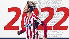 Amanda Sampedro, dos años más feliz como capitana del Atlético de Madrid