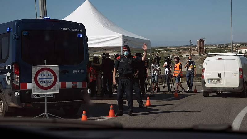 Más de 200.000 personas vuelven al confinamiento en la comarca del Segrià, la más habitada de Lleida