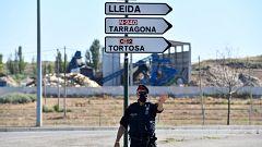 Aragón y Cataluña, pendientes de la movilidad por los brotes
