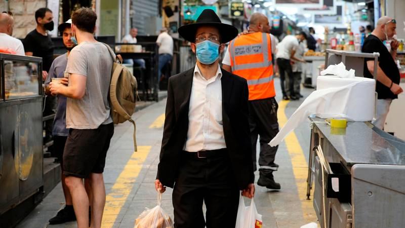 Preocupación por el aumento de los contagios de coronavirus en Israel y los territorios palestinos