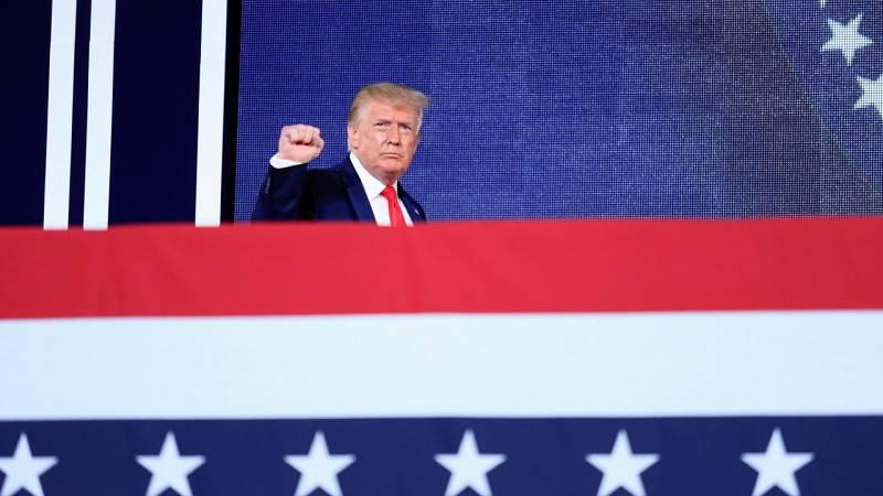 Nuevo acto de Donald Trump por el 4 de julio pese a las cifras récord de contagios de coronavirus en EE.UU.