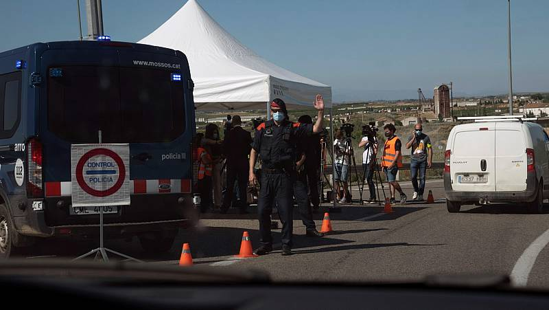 Los vecinos de la comarca leridana del Segrià vuelven al confinamiento en pleno verano