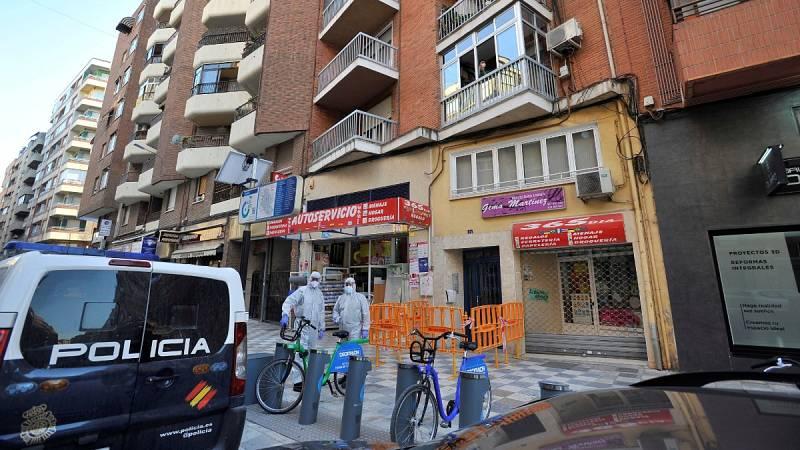 Nueve positivos por coronavirus en un bloque aislado en Albacete