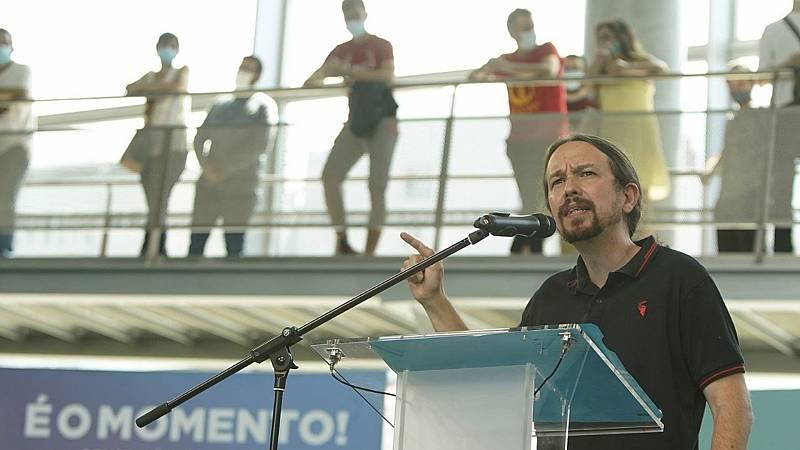 Caso Dina: Iglesias insiste en que Podemos será quien pida una comisión sobre el espionaje