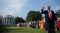 El coronavirus, las protestas contra el racismo y el debate sobre los símbolos marcan las celebraciones del 4 de Julio en EE.UU.