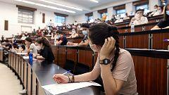 Nueve comunidades autónomas comienzan el lunes los exámenes de la EBAU