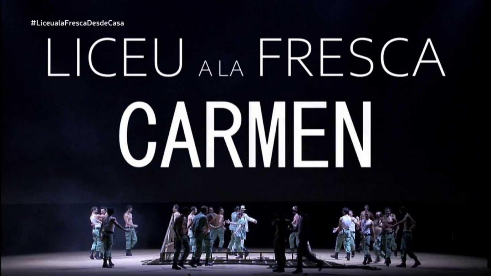 El palco - Liceu a la fresca: Ópera Carmen (presentación) - ver ahora