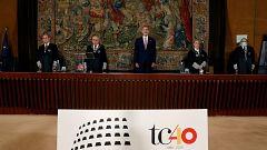 """El rey llama a respetar y valorar al TC, """"garante por antonomasia de la democracia española"""""""