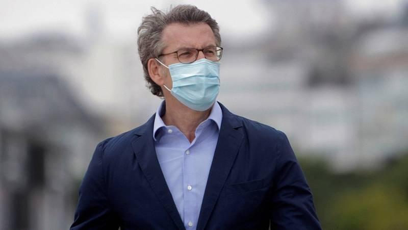"""Feijóo insiste en que es """"seguro"""" celebrar las elecciones en A Mariña pese a las dudas del resto de candidatos"""