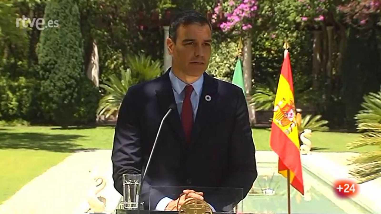 """Sánchez: """"Julio es el mes para el acuerdo en Europa"""""""