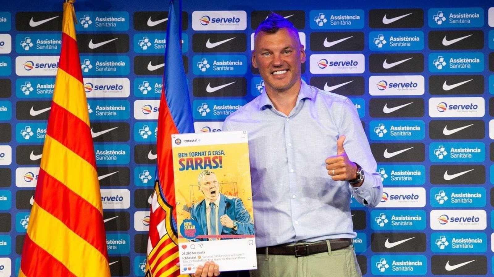Jasikevicius, el fichaje que ilusiona a los aficionados del FC Barcelona