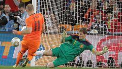 """Casillas: """"Me acuerdo de haber vivido muchas veces la jugada con Robben"""""""