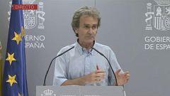 Especial informativo - Coronavirus. Comparecencia de Fernando Simón - 06/07/20