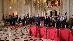 Cerca de 400 personas asisten al funeral por las víctimas del coronavirus celebrado en Catedral de la Almudena