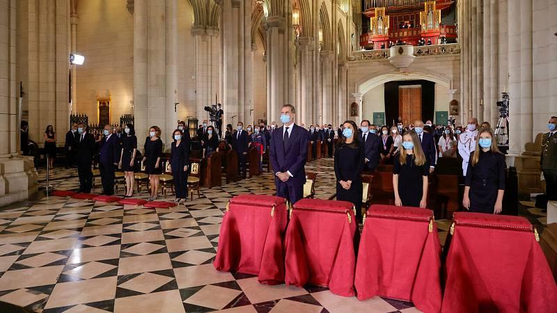 Funeral por las víctimas del coronavirus en la Almudena
