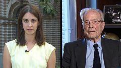 Los desayunos de TVE - Rita Maestre, portavoz de Más Madrid en el Ayuntamiento, y Antonio Garrigues, jurista y presidente de la Fundación Garrigues