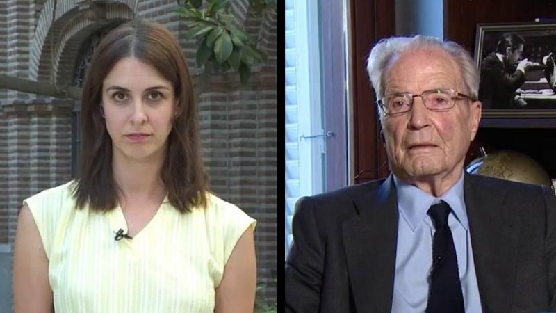 Los desayunos de TVE - Rita Maestre, portavoz de Más Madrid en el Ayuntamiento, y Antonio Garrigues, jurista y presidente de la Fundación Garrigues - ver ahora