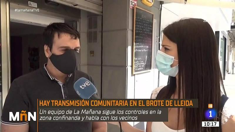 La Mañana - Así está viviendo Lleida la vuelta al confinamiento tras los rebrotes