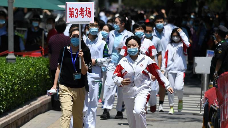 Diez millones de chinos comienzan el Gaokao