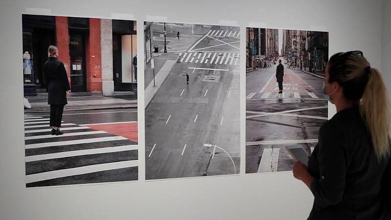 Telediiario - La exposición 'Cámara y ciudad', en Caixaforum de Madrid, dedica un apartado a las urbes vacías durante el coronavirus -  07/07/2020 - Ver ahora