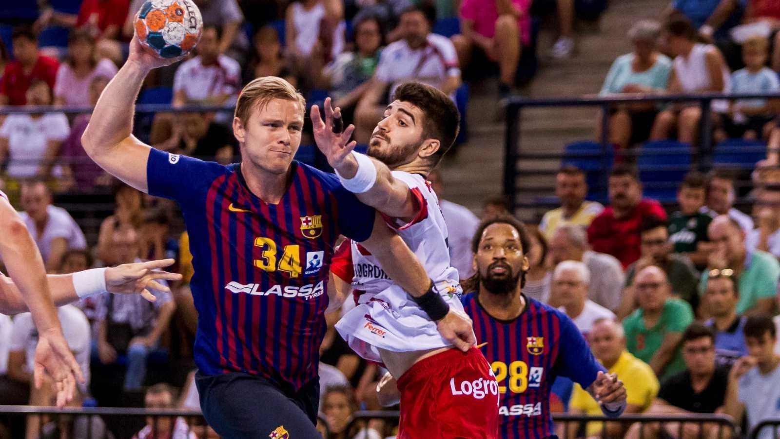 La ASOBAL busca un acuerdo para evitar la baja de Barça y Logroño