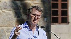 """Elecciones gallegas: Feijóo pide votar el 12J para que Galicia """"no pare"""""""