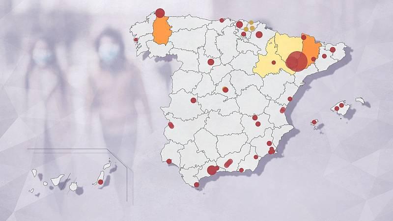 Los sanitarios en Lleida, al límite por los brotes