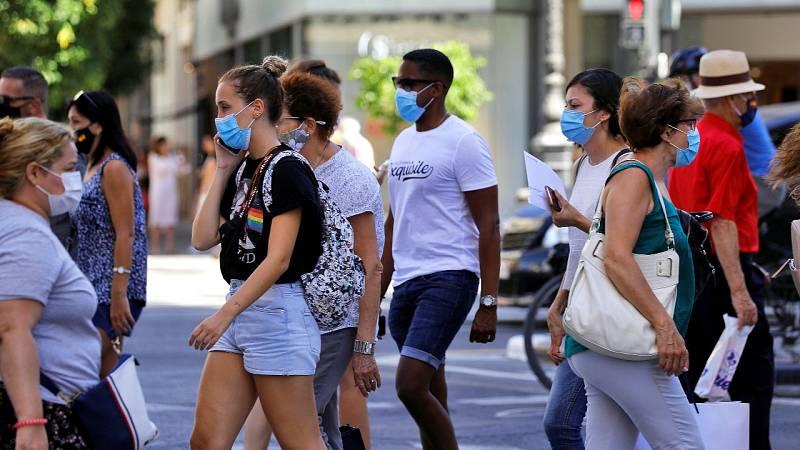 Cataluña hará obligatorio el uso de la mascarilla aún con distancia de seguridad