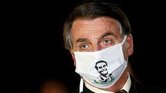 El presidente brasileño, Jair Bolsonaro, positivo por coronavirus
