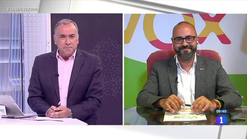 "Ricardo Morado: ""No vamos a dar un paso atrás, Vox ha llegado a Galicia para quedarse"""