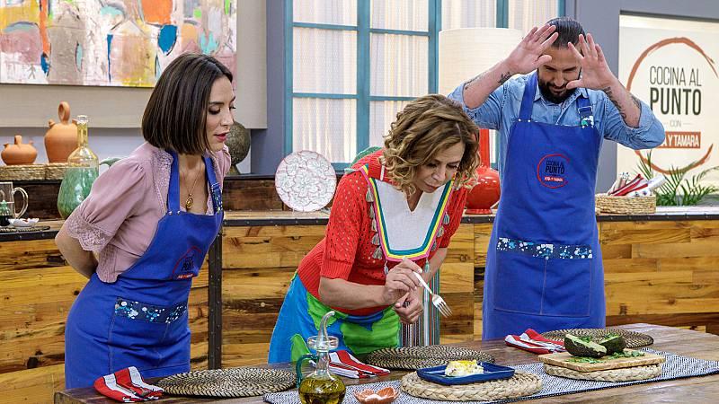 Cocina al punto con Peña y Tamara - Guisantes (Valladolid) - ver ahora