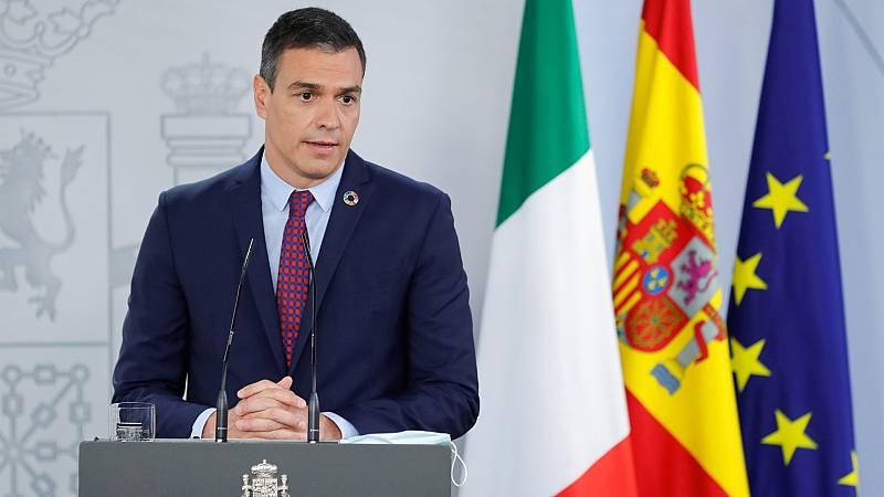 """Sánchez asegura que el Gobierno """"defiende la libertad de prensa"""" y rechaza valorar las palabras de Iglesias"""