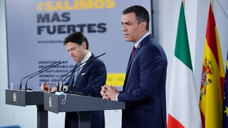 """Sánchez dice estar """"abierto a grandes acuerdos"""" siempre que cada partido esté """"en el lugar"""" que corresponde"""