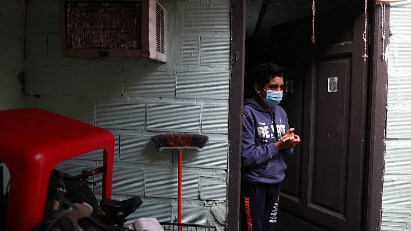 Voluntarios para rastrear el coronavirus en Buenos Aires
