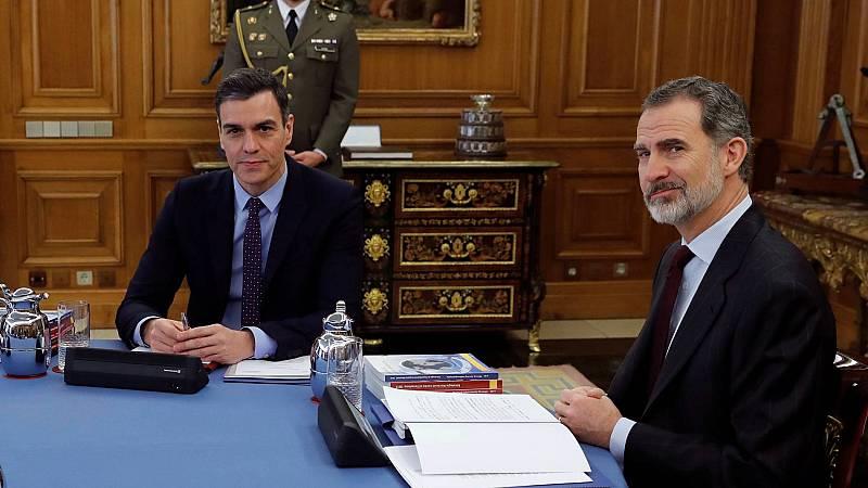 Sánchez desvincula a Felipe VI de las investigaciones al rey emérito