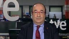 """Miquel Iceta (PSC): """"El Gobierno de Cataluña llega tarde al brote de Lleida"""""""