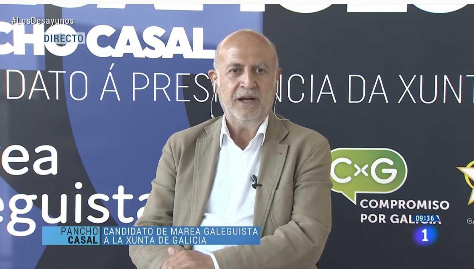 Elecciones gallegas 2020: Entrevista a Pancho Casal (Marea Galeguista)