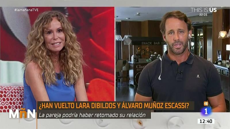 """Lara Dibildos y Álvaro Muñoz Escassi confirman que no están juntos a pesar de su buena relación: """"Lo pillé en su peor momento"""""""